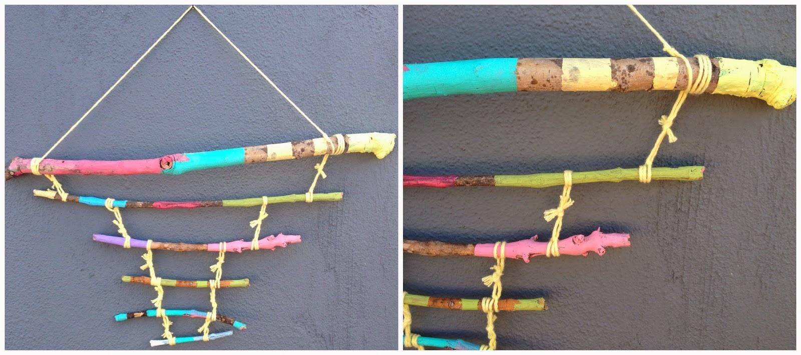 tribal stick wall decor u2014 jenna guizar