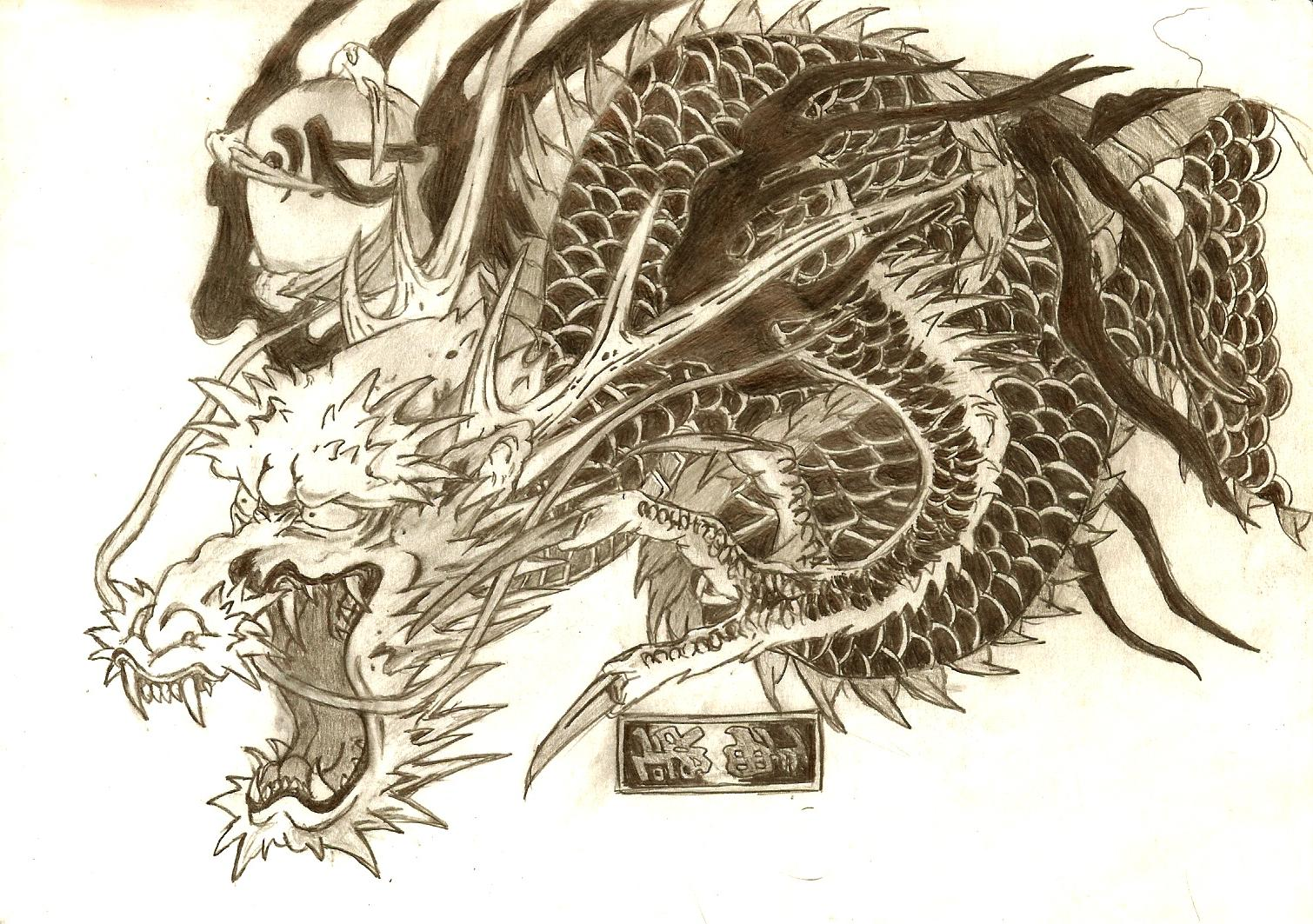Dragon tattoo pictures designs 2014
