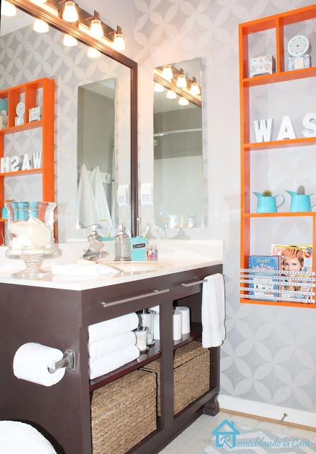 Remodelando La Casa Bathroom Makeover