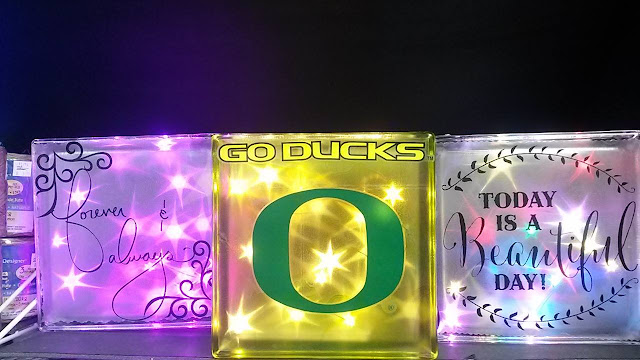 Glass Twinkle Blocks @craftsavy #craftwarehouse #goducks