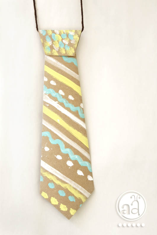 Tutorial For Stylish Kids The Handcrafted Paper Neck Tie Artsy Ants