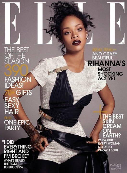 Rihanna x ELLE Magazine USA Décembre 2014