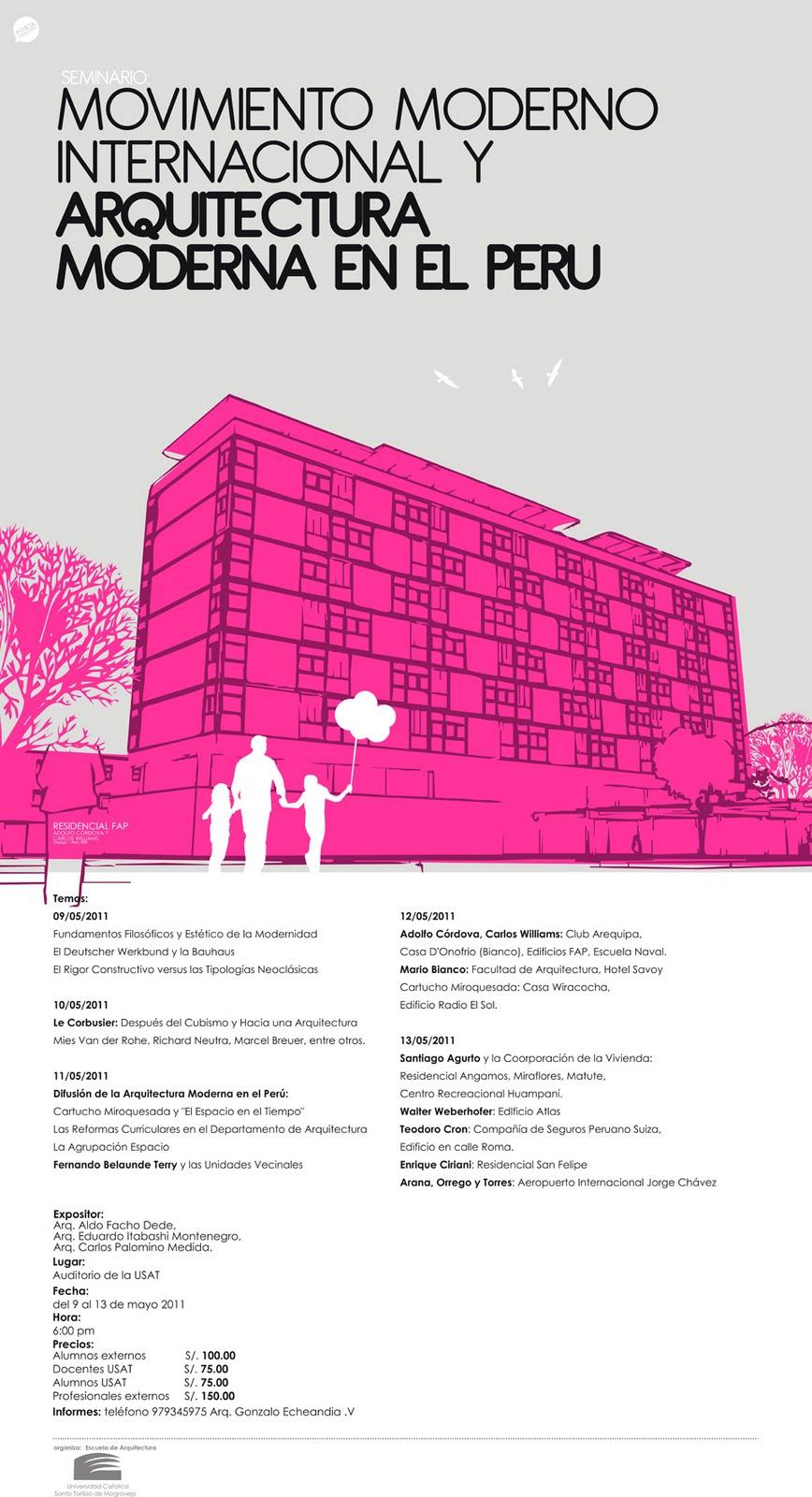 Seminario de arquitectura movimiento moderno - Movimiento moderno ...
