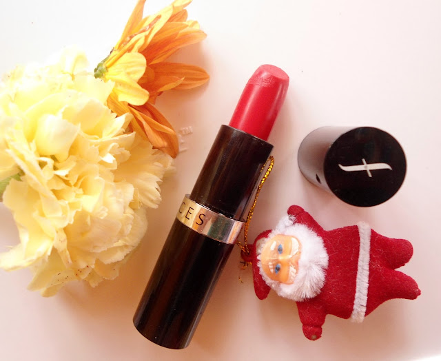 Faces go chic lipstick two timings review swatch FOTD