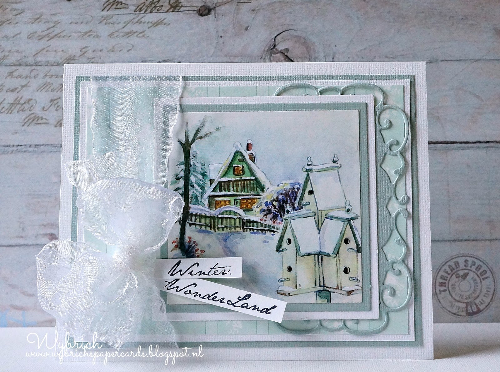 Cards made by wybrich marianne design challenge 121 - Nieuwe home design ...