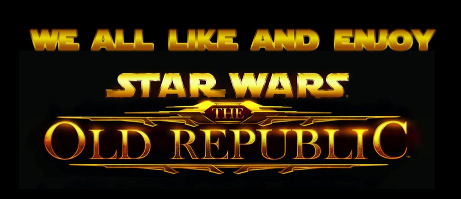 We like and enjoy Star Wars: The Old Republic!
