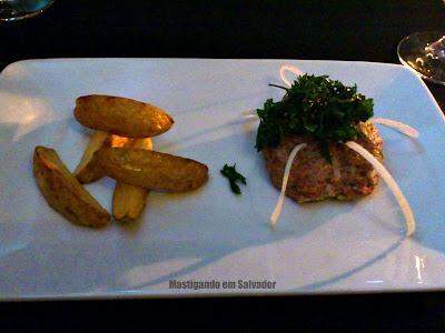 Confraria Mediterrâneo: Steak Tartare
