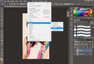 tutorial, hiệu ứng photoshop, tranh vẽ