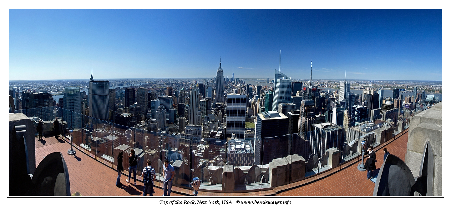 Top of The Rock Observation Deck@ Rockefeller Center