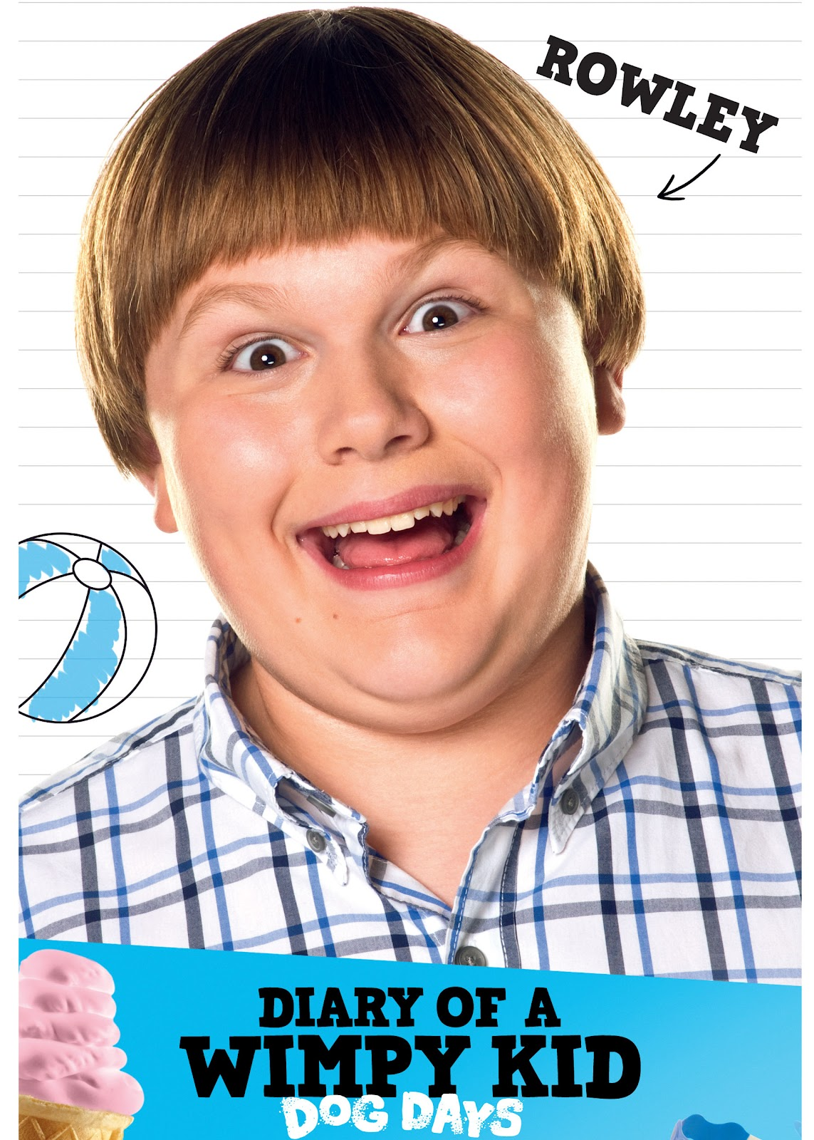 Diary Of A Wimpy Kid Rowley Actor