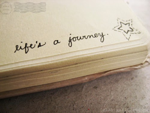 Life's a journey.