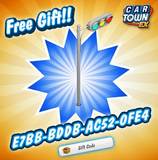gift trffic light this week for car town ex go to withdraw your gift