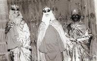 Los Reyes magos en la ermita de Candelario Salamanca