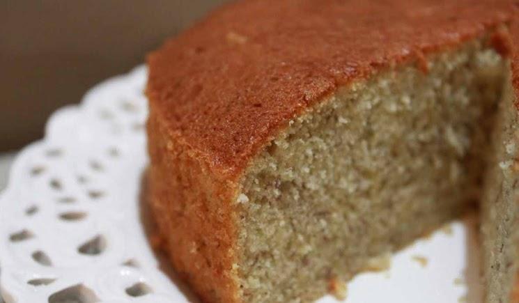 Resep Banana Sponge Cake