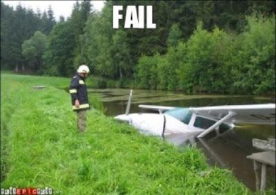 pesawat tenggelam