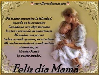 Frases Dia De La Madre: Mi Madre Encuentra La Felicidad