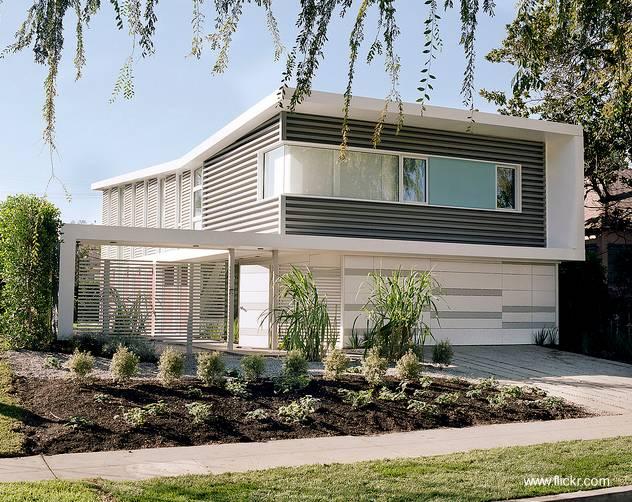 Arquitectura De Casas: Casas Residenciales Estilo Moderno Y