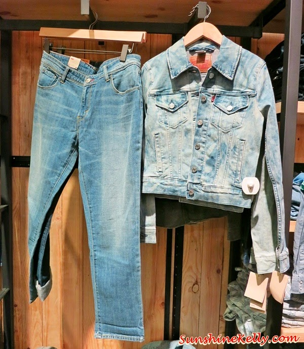 Levi's Fall 2014 Women's 501, Levi's Icons for Fall 2014, Levi's, Live in Levi's, Levi's Jeans, Levi's Iconic, 501 jeans, truckers jacket, western shirt, denim, jeans, fashion trend, fall 2014, fashion world, denim world