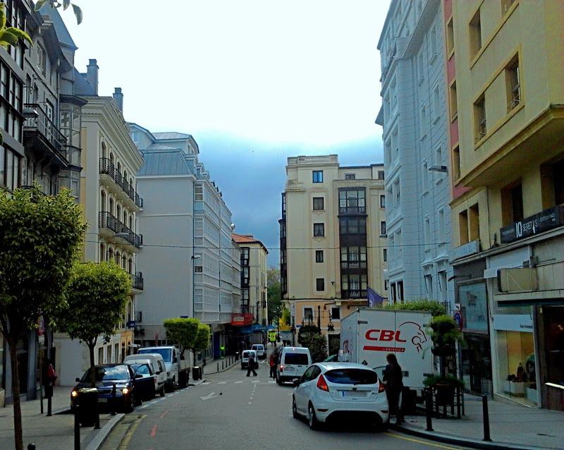 Calle San José en Santander