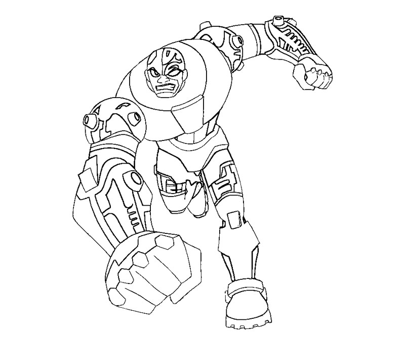 cyborg coloring pages 1 CybColoring Page cyborg coloring pages