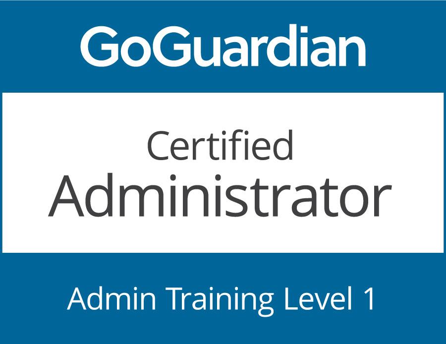GoGuardian Certified Admin