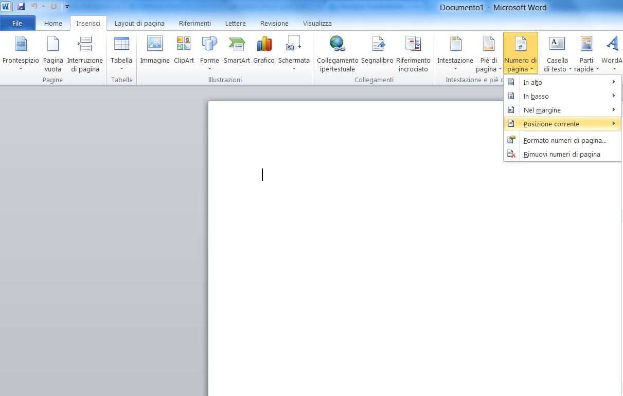 come eliminare pagine da word