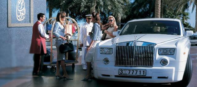 Roll Royce Hotel Burj Al Arab