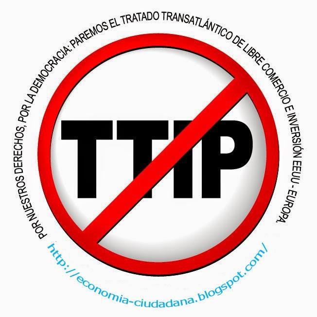 No al TTIP Economía Ciudadana