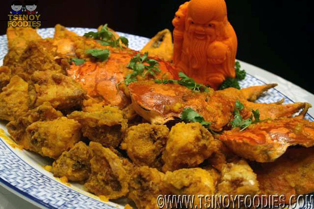 fried crab salted egg