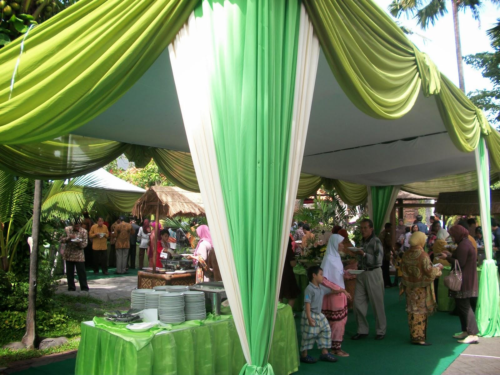 paket dekorasi pelaminan tenda vip