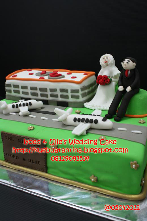 Masama Cakes Wedding Cake Themed Airport For Iyoed Ulies