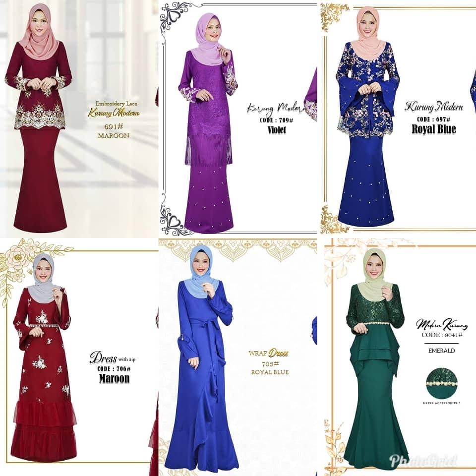 Cantik cantik baju terbaru pelbagai design tersedia