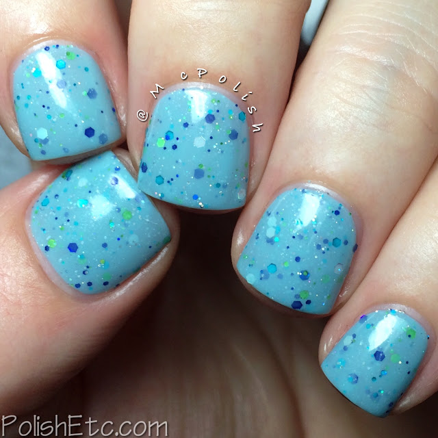 KBShimmer Fall 2015 Collection - I've Seen Sweater Days- McPolish