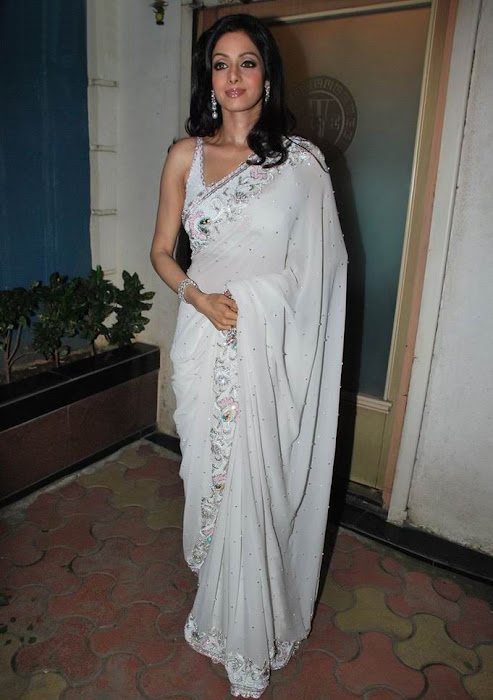 sridevi kapoor in transparent saree actress pics