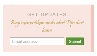 Follow By Email Widget