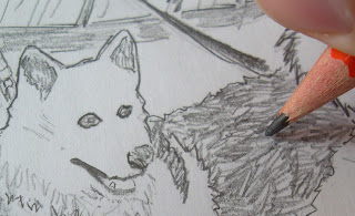 draw dog sneak peek