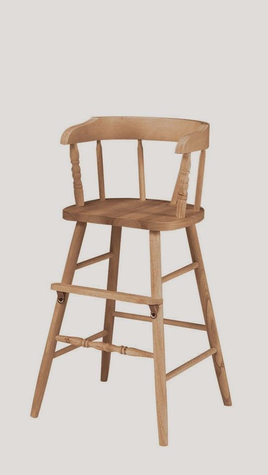 Wooden Toddler High Chair ...