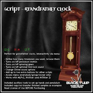 Grandfather Clock Script