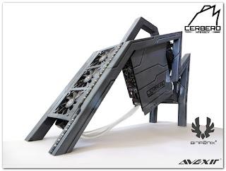 CERBERO - telaio custom per pc da gaming