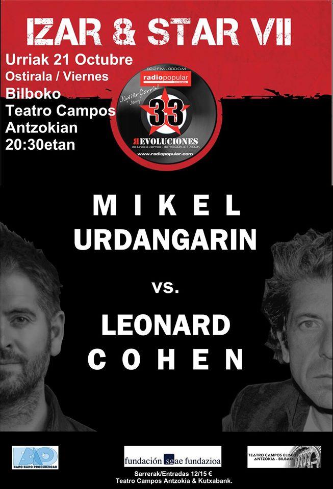RECOMENDACIÓN!!! - 21/10/16<br> Teatro Campos - Bilbao