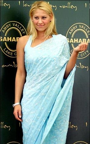Anna Kournikova in Indian Avtar