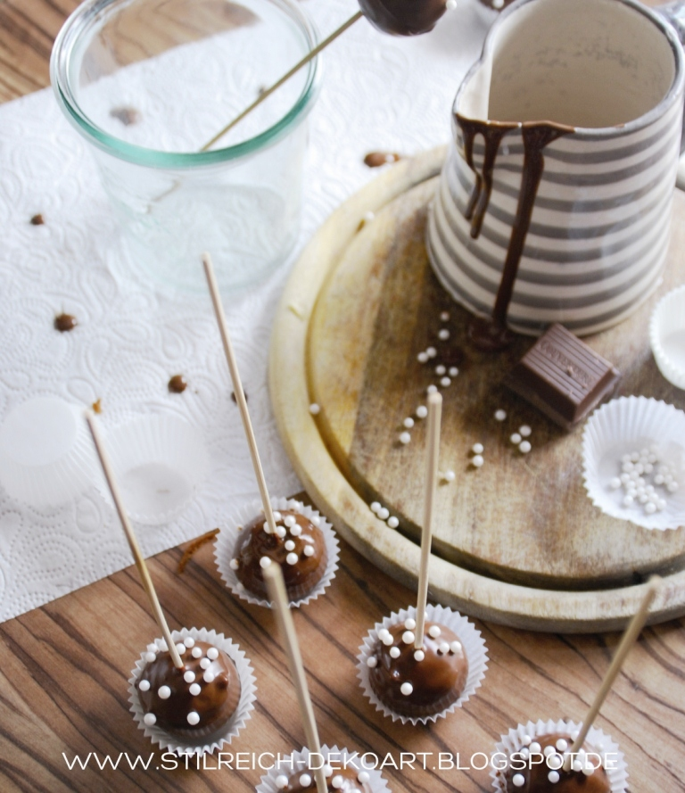 Schocoholic cake pops ein regal mal anders s t i l r e i c h blog - Stilreich blog ...