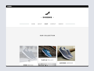 Shoebas Website Template