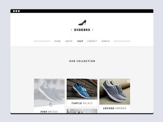 Shoebas Website Template