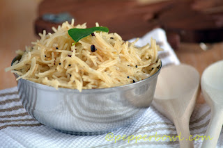 vermicilli-upma serve hot with pickles