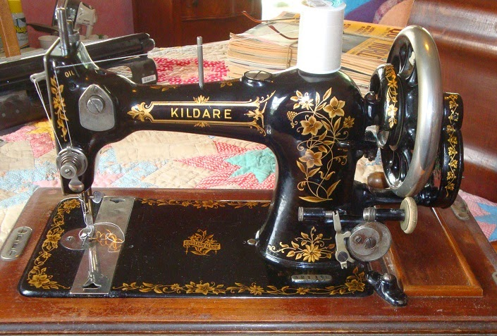 pumpkin hollow primitives kildare hand crank sewing machine ebay
