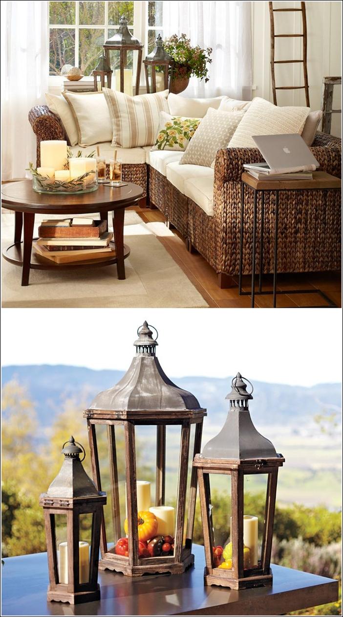 D coration traditionnelle avec des lanternes d cor de for Decoration maison normande traditionnelle