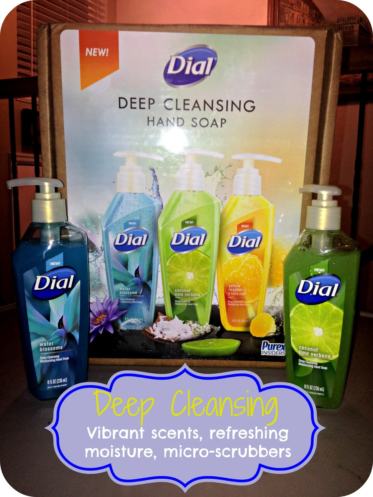 NEW Dial Deep Cleansing Hand Soap