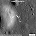 L'allunaggio cinese visto dallo spazio da una sonda americana
