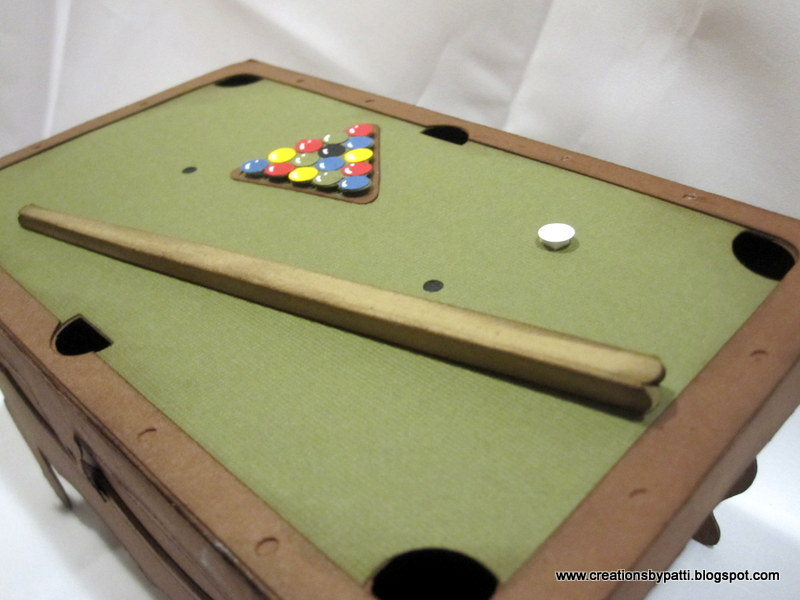 Creations By Patti Pool Table Decor - Pool table side panels